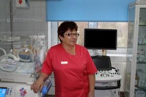 Pielęgniarka Oddziałowa Oddziału Neonatologii Wiesława Lekowska