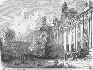 Klasztor cystersów tuż przed utworzeniem szpitala