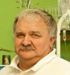 Kierownik Oddziału Anestezjologii i Intensywnej Terapii lek. med. Ryszard Tokarczuk