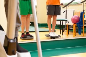 Oddział Rehabilitacji, sala ćwiczeń