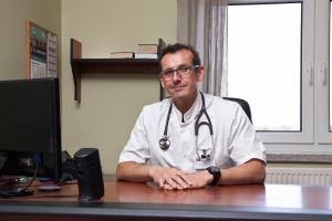 Kierownik Oddziału Pediatrycznego dr n. med. Henryk Szymański