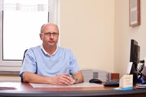 Kierownik Oddziału Ginekologiczno-Położniczego dr n. med. Witold Skrzypek