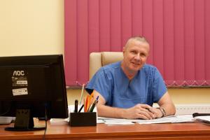 Kierownik Oddziału Rehabilitacji lek. med. Tomasz Łukaniec