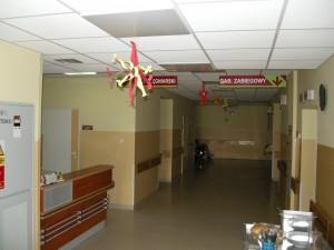 Oddział Chirurgii Urazowo-Ortopedycznej – lada pielęgniarska