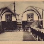 sala cesarska klasztoru międzywojnie
