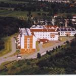 Szpital z lotu ptaka (dawniej)